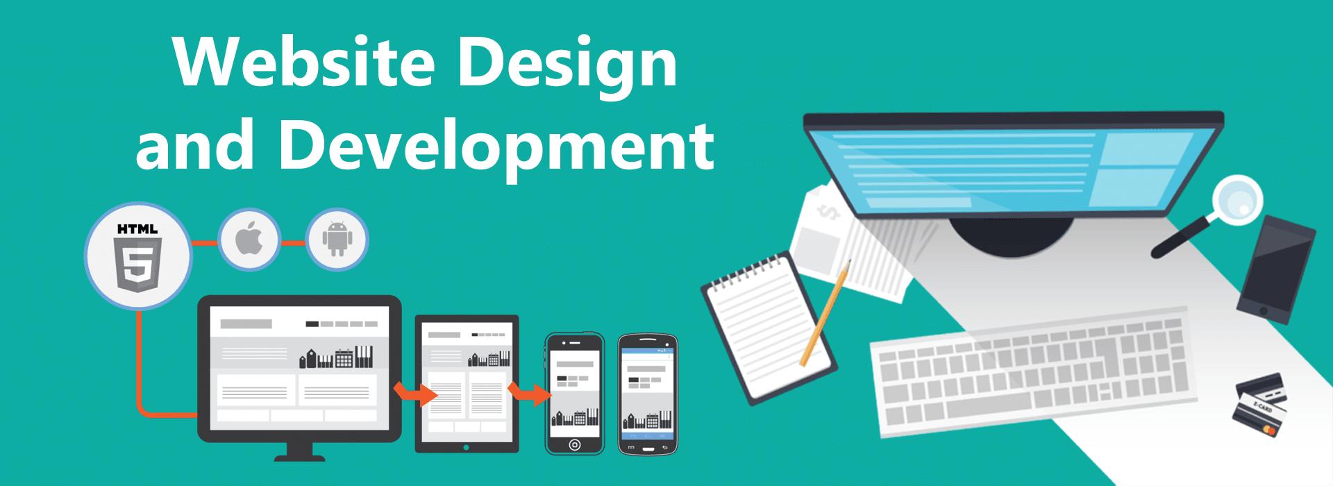 website design development